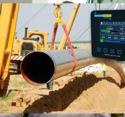 Pipelayer LMI System CraneSmart Iploca Pileine Machinery International CAT