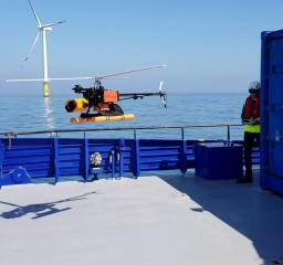 Wind Turbine Drone Inspection