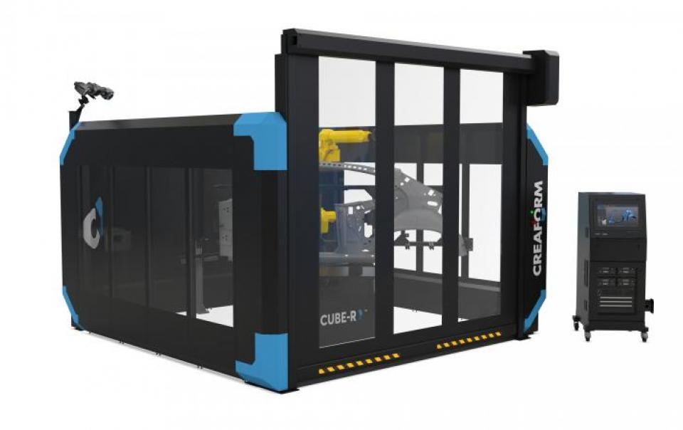 Cube_R_3D_Printer_Side_View_Creaform_Cube_R_Open