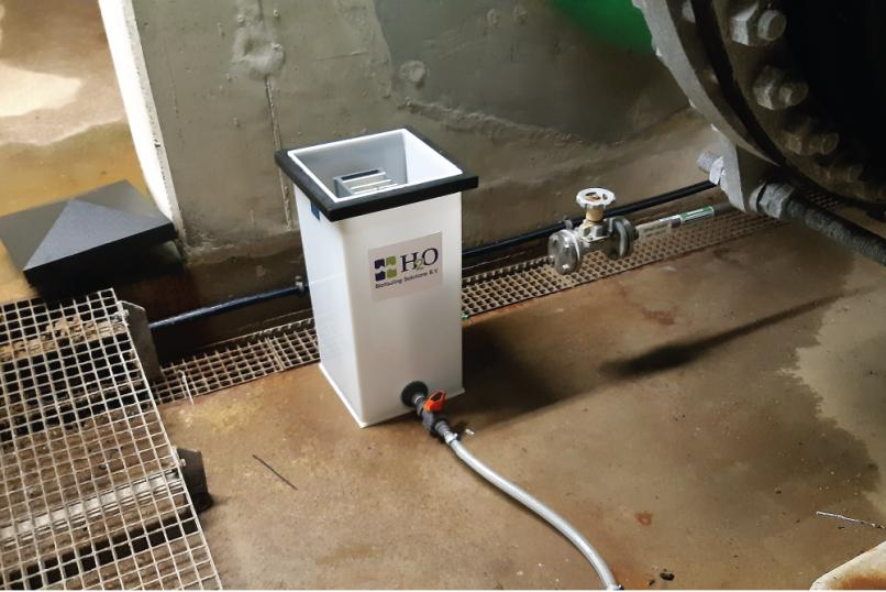 Efficient biofouling control biofouling monitor