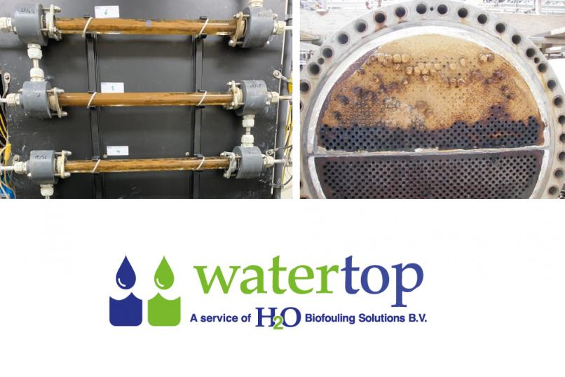 H2O Biofouling solutions watertop
