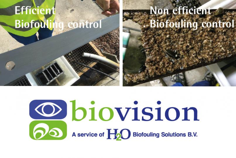 H2o Biofouling solutions Efficient biofouling control biofouling monitors